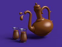 Cadbury Chocolate Teapot